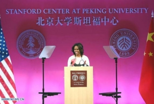 Michelle Obama Well Received in China