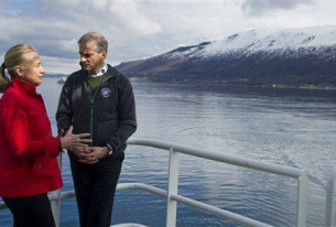 Hillary Clinton Discusses Black Carbon and Arctic Council in Norway