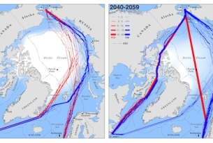 Study: New Trans-Arctic shipping routes navigable by midcentury