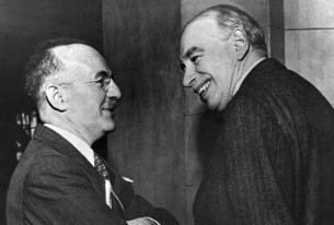 """""""Keynes v. Hayek,"""" or """"Keynes/Hayek""""?"""