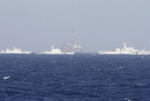 Chinese Oil Rig Again Angers Hanoi