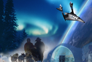 From one frontier to the next: the Arctic and space