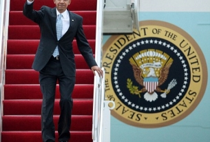 Obama Comes to Town