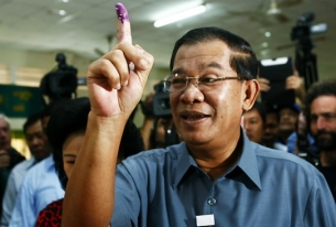 Cambodian Ruling Party Wins But Opposition Gains