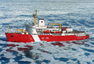 Canadian Icebreaker Louis S. St-Laurent Heading South For Repairs