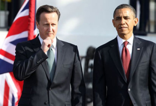 Cameron Visits U.S. in High Wire Act on Europe, Syria