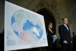 Canadian and Russian claims to the Arctic: The allure of the North Pole
