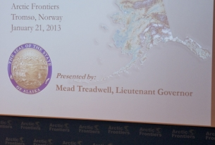 Arctic Frontiers: Mead Treadwell's Speech