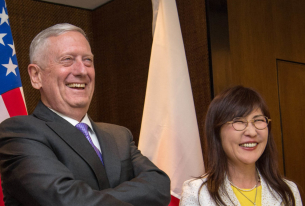 Mattis and Inada Draw Fire at Shangri-La Dialogue in Singapore