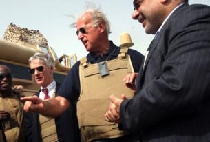 Vice President Biden Drops by Baghdad