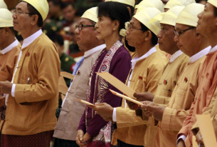 Democracy party in Myanmar joins parliament; now what?