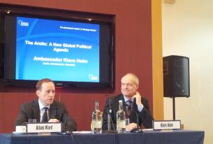 Danish Arctic Ambassador Klavs Holm discusses AC, Greenland