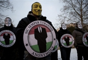 Repurposing Anonymous' #OpIsrael