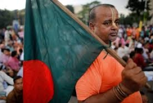 Bangladeshi Hindu activist calls upon India to stop supporting his country's government