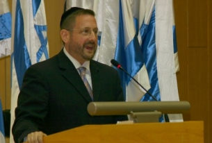 Exclusive Interview: Yesh Atid's Rabbi Dov Lipman