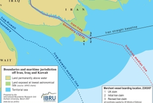 International Violations by Iran in British Sailor Dispute?