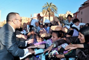 Where's a leader when you need one? In Morocco.