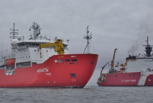 South Korean icebreaker leads expedition to Canada's Beaufort Sea for methane hydrates