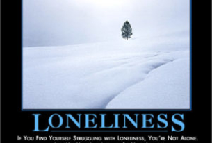 One is the loneliest number . . .