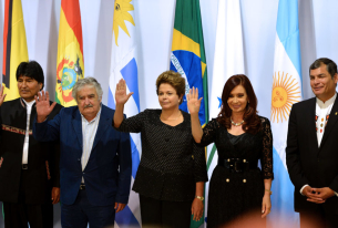 The Receding of the Pink Tide in Latin America