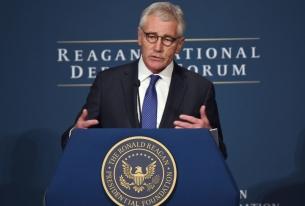 Hagel, Pentagon say U.S. falling behind in warfare technology