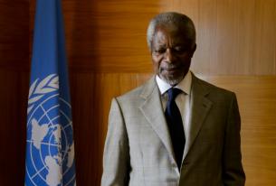 Syria and the Resignation of Kofi Annan