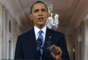Obama Defends Assertive Post-War U.S. Role