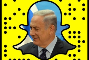 Netanyahu has joined Snapchat