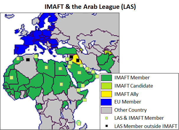Members of the Islamic Military Alliance & LAS