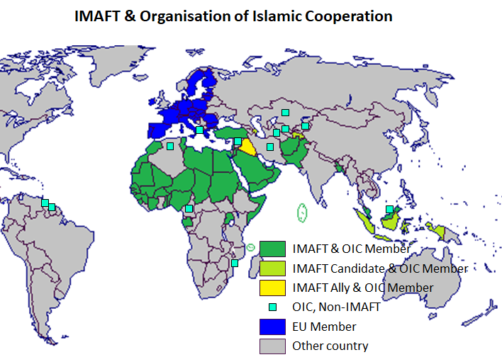 Membership of the Islamic Military Alliance & OIC