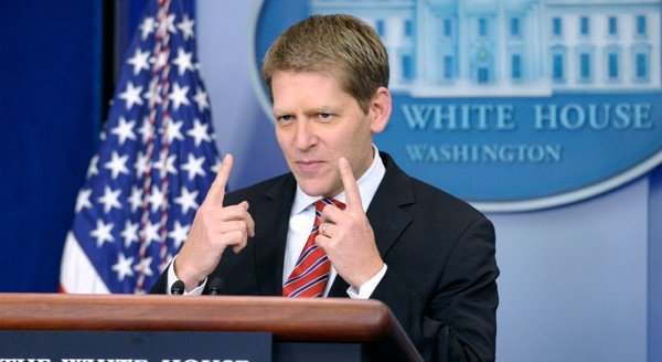 White House Spokesman Jay Carney and the power of ambiguity. (credit: patdollard.com)