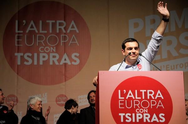 Alexis Tsipras in 2014. Photo Credit: Lorenzo Gaudenzi