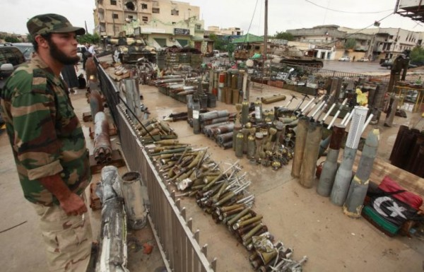 A Weapons Market in Libya