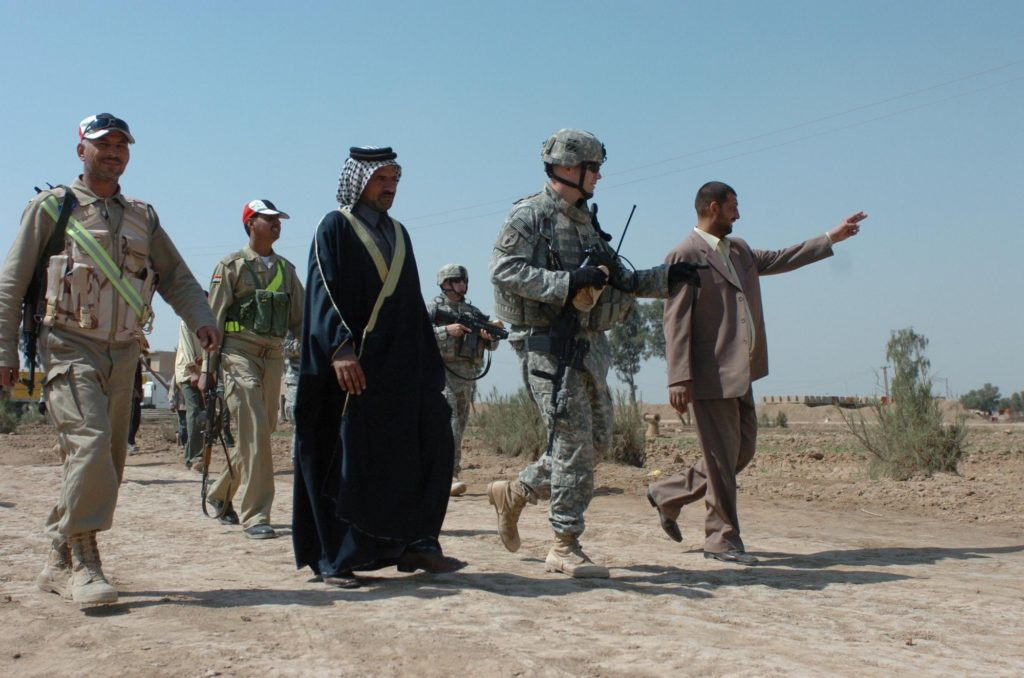 Sunni tribal fighters in 2007 (Photo Credit: U.S. Army)
