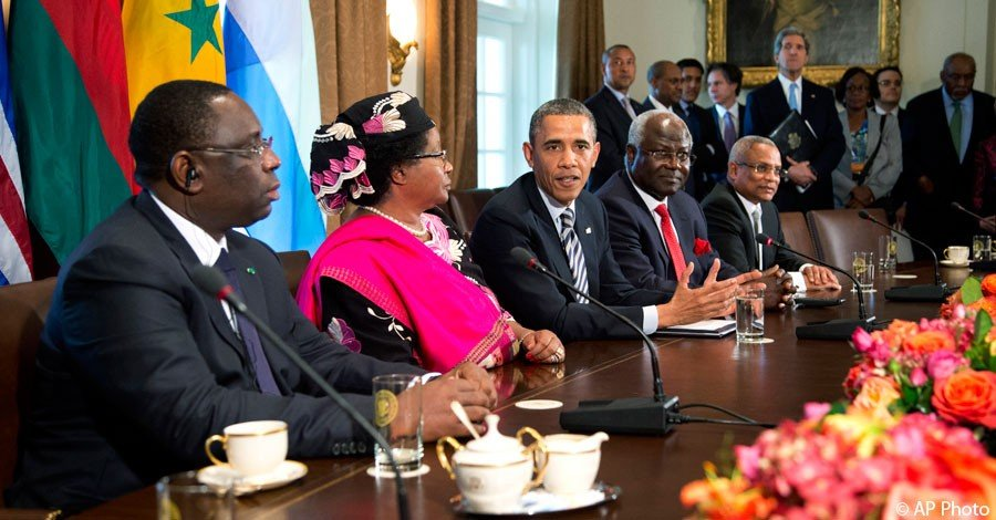 President Obama Meets With Leaders of Sierra Leone, Senegal, Malawi, and Cape Verde (Official White House Photo by Pete Souza)