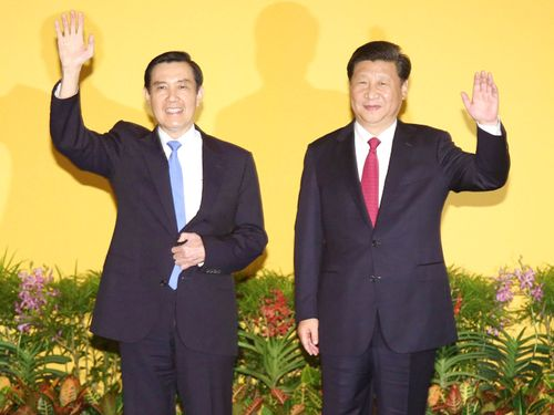 "Historic Ma-Xi meeting focuses on ""1992 consensus"""