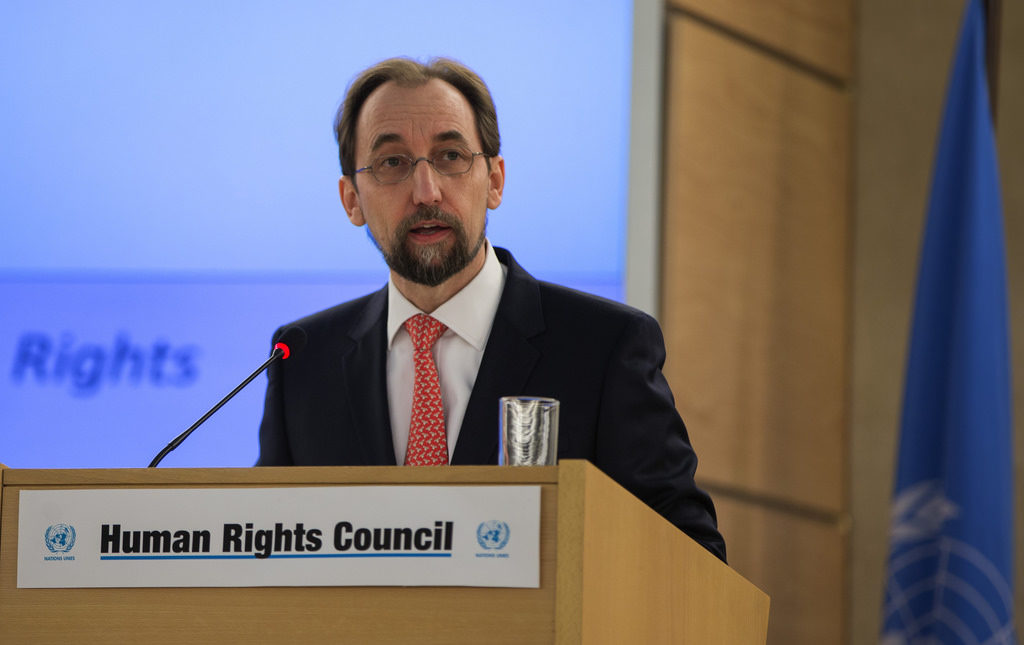 UN High Commissioner for Human Rights Zeid Ra'ad Al Hussein Condemns Separation of Children from their Parents at US Southern Border