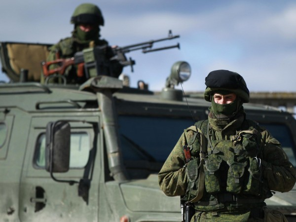 The Russian-Ukrainian conflict: 'little green men'