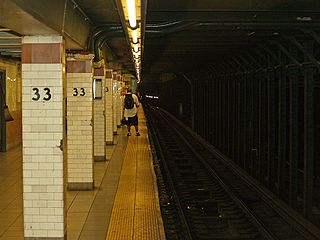 Seriously, that's one intimidating subway platform. Photo Credit: David Shankbone, via Wikipedia