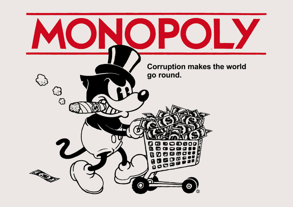 Corruption - courtesy of Christopher Dombres