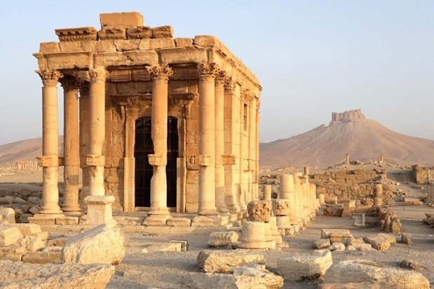 The Temple of Baal prior to its destruction.