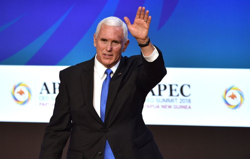 Pence's statement of US intent at APEC