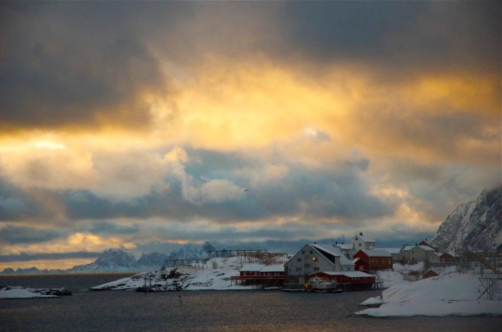 The Lofoten Islands. (c) Mia Bennett