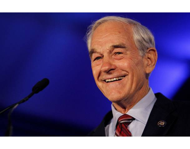Congressman Ron Paul at the Republican Leadership Conference - 2011