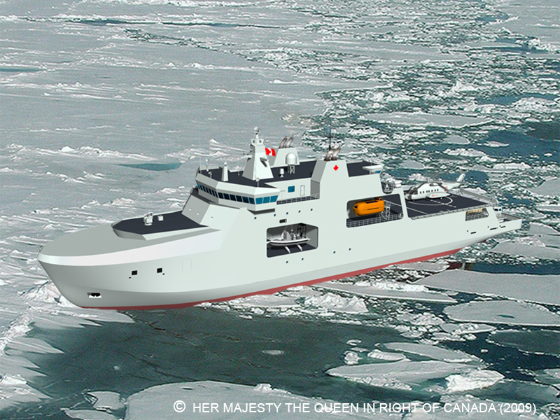 Canada's Arctic/Offshore Patrol Ships Delayed Three More Years