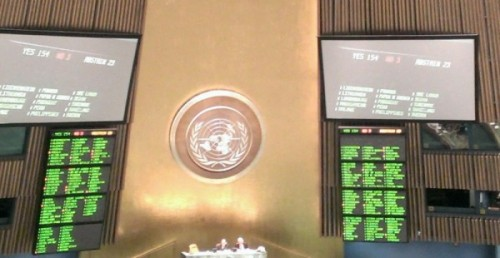 U.N. General Assembly passes Arms Trade Treaty