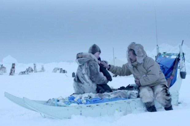 Scene from Aningaaq. © Warner Brothers