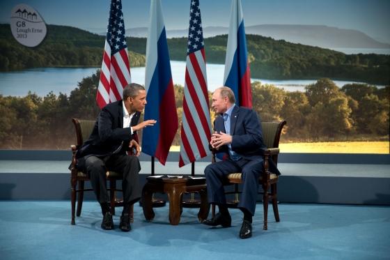 President Barack Obama meets with Russian President Vladimir Putin Source: White House