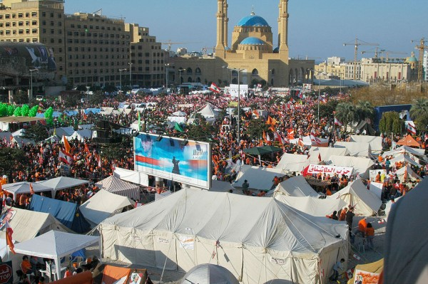 December 2006, Pro-Syria rally in Beirut, Lebanon