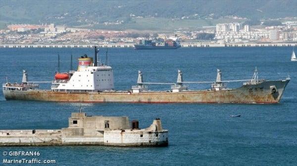 The North Korean freighter MV Chong Chon Gang (Photo: marinetraffic.com)